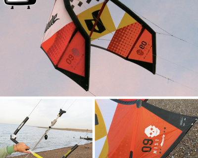 Blade Mist 9M 2014 Kite Test by iksurfmag
