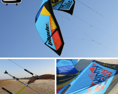 Skinny Boy 8M 2015 Kite Test by iksurfmag