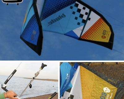 Blade Trigger 9M 2014 Kite Test by iksurfmag