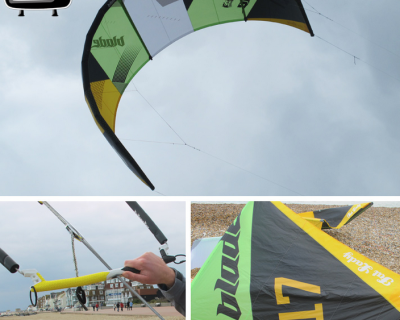 Blade Fat Lady 17M 2013 Kite Test by iksurfmag