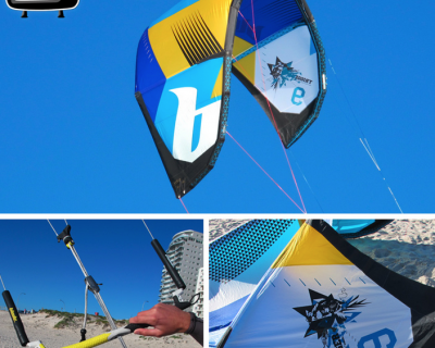 Blade Trigger 9M 2013 Kite Test by iksurfmag