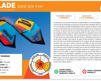 The Kiteboarder Mag Review: 2015 Blade Skinny Boy- French