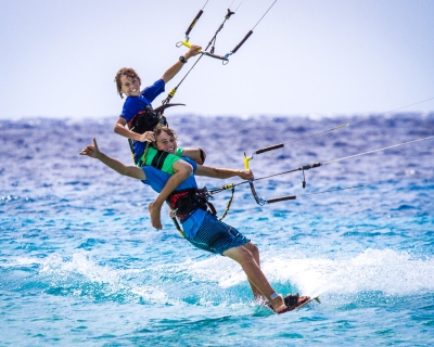 Meet the Wachtmeester family- one happy BLADE kiting family from the Dutch Caribbean
