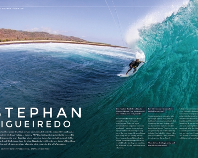 The Kite Mag interviews our team rider, Stephan Figeiredo