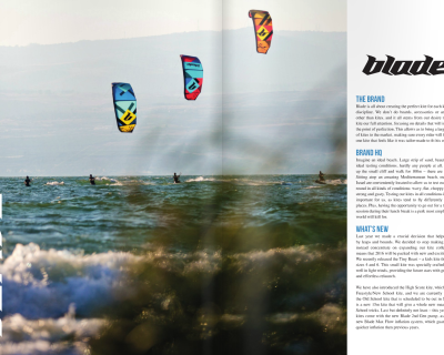 Blade on the KiteMag Brand Guide
