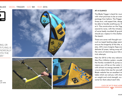 """Jumping, or rater flying, is astronomically fun with the Trigger"" says IKSURFMAG and we agree"